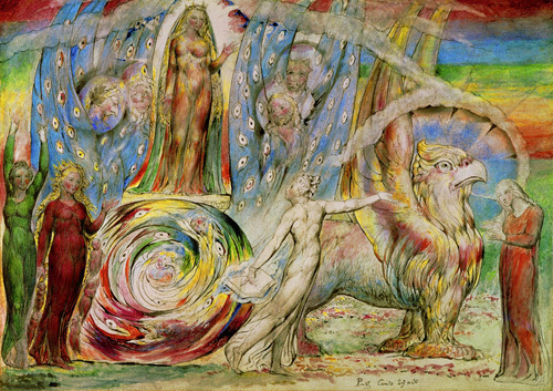 Dante by William Blake