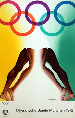 Munich Olympics by Allen Jones