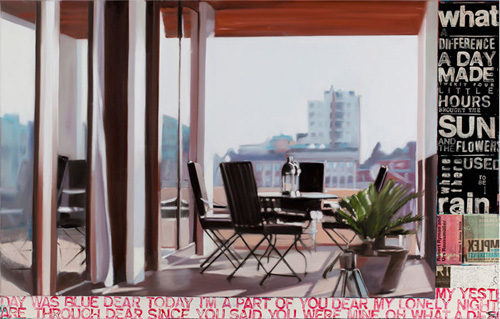 Roof top, 2010 by Frank Damm