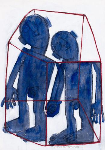 Sans titre, 2008 by Petrus De Man