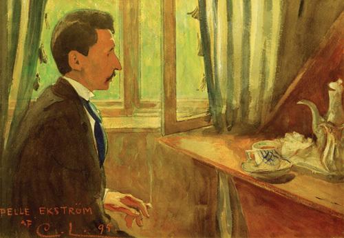 Pelle Ekstrom, 1895 by Carl Larsson
