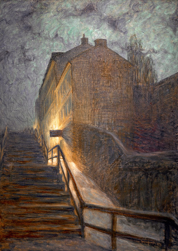 Motif from Timmermansgatan 1899 by Eugene Fredrik Jannson