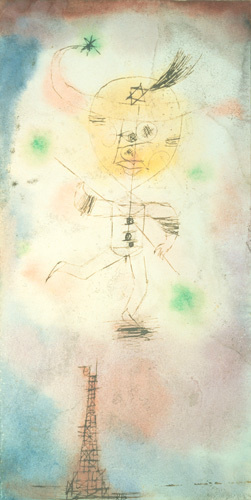 The Comet of Paris 1918 by Paul Klee