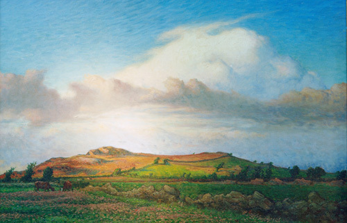 Hasten Mountain, Varberg 1895 by Nils Edvard Kreuger
