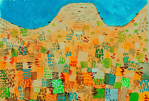 Klang aus Sizilien (Sounds from Sicily) 1924 by Paul Klee