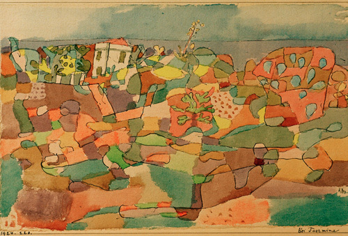 At Taormina 1924 by Paul Klee
