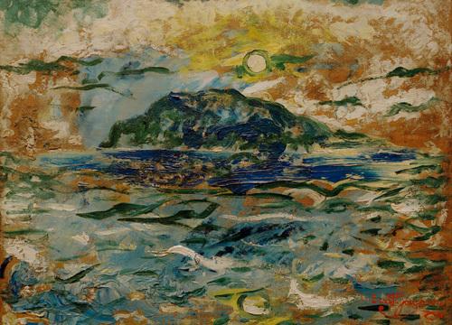 Blue Sea 1893 by Ernst Josephson