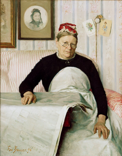 The Housekeeper (Marie Banck) 1890 by Carl Larsson