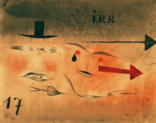 Siebzehn (Seventeen), 1923 by Paul Klee