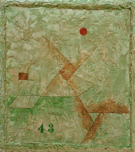 43, 1928 by Paul Klee