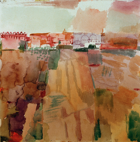 Kairouan 1914 by Paul Klee