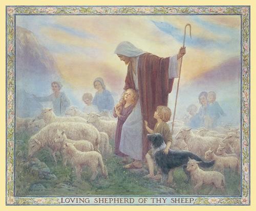 Loving Shepherd by Margaret Tarrant