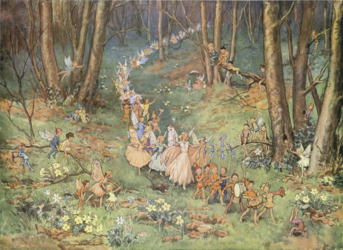 The Fairy Way by Margaret Tarrant