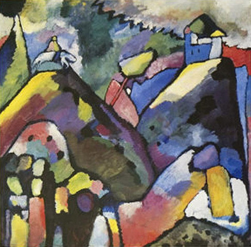 Improvisation 9, 1910 by Wassily Kandinsky