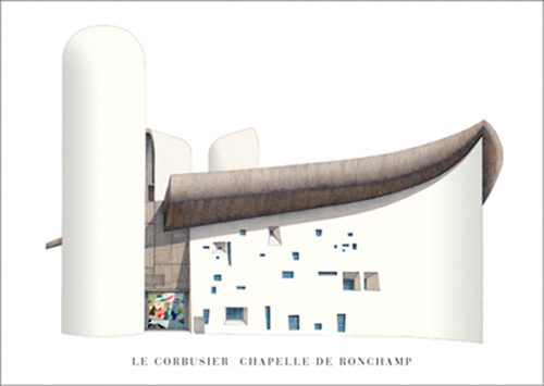 Chapelle de Ronchamp by Le Corbusier