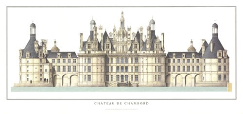 Chateau de Chambord by Anonymous