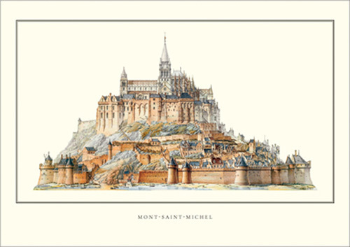 Mont Saint-Michel by Anonymous