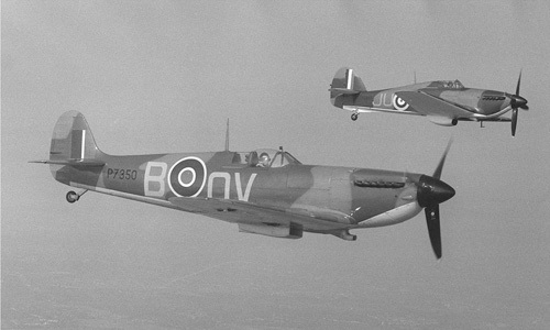 Spitfire and Hurricane by Anonymous
