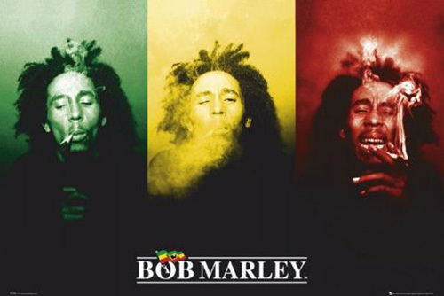 Bob Marley - Flag by Anonymous