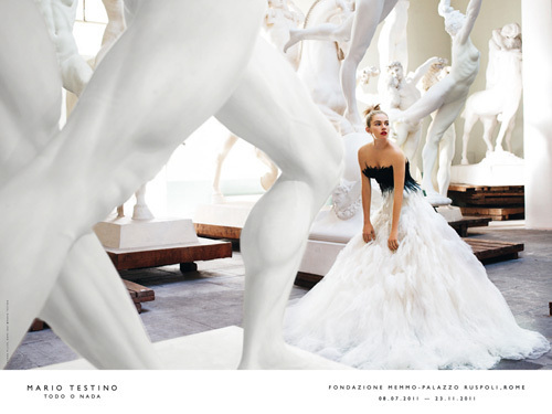 Sienna Miller by Mario Testino