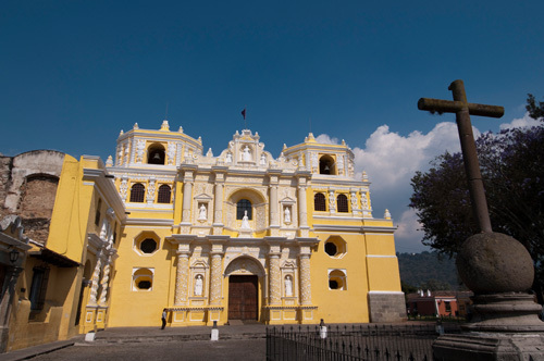 La Merced church, Antigua, Guatemala by Sergio Pitamitz
