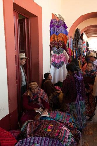 Market, San Francisco El Alto, Guatemala by Sergio Pitamitz