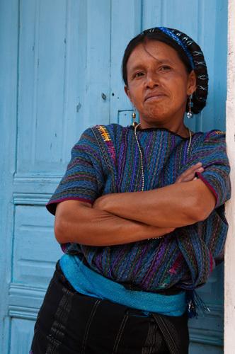 San Antonio Palopo, Lake Atitlan, Guatemala by Sergio Pitamitz
