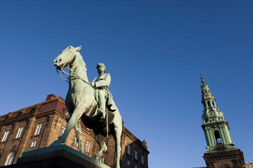 Christiansborg, Copenhagen, Denmark by Sergio Pitamitz