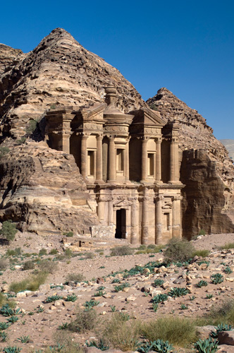 The Monastery, Al Deir, Petra, Jordan by Sergio Pitamitz