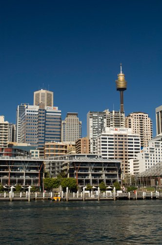 Skyline, Darling Harbour, Sydney, New South Wales, Australia by Sergio Pitamitz