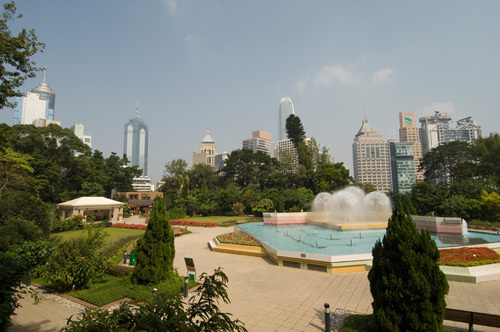 Zoological and Botanical gardens, Central District, Hong Kong, China by Sergio Pitamitz