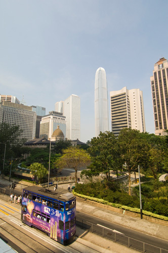 Queensway, Central District, Hong Kong, China by Sergio Pitamitz