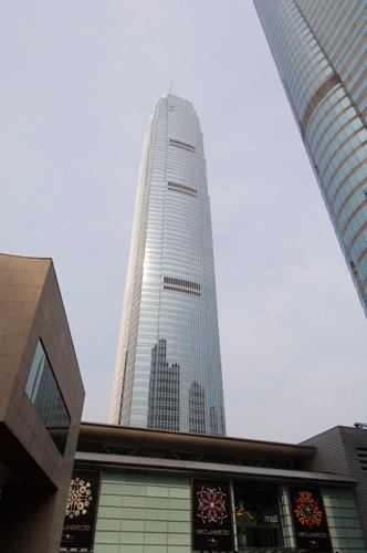 Two IFC Building, Central District, Hong Kong, China by Sergio Pitamitz