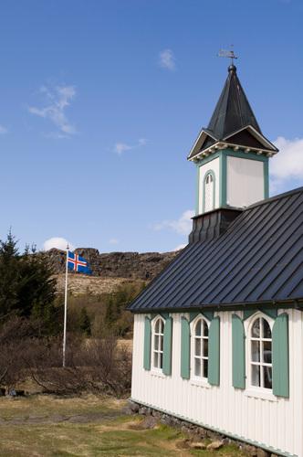 Church, Thingvellir National Park, Iceland by Sergio Pitamitz