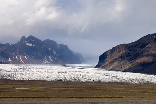 Vatnajokull glacier, Skaftafell National Park, South coast, Iceland by Sergio Pitamitz