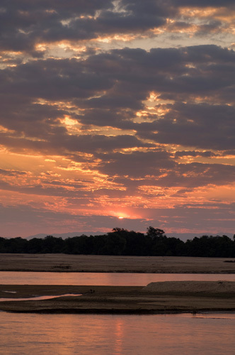 Luangwa River, South Luangwa National Park, Zambia by Sergio Pitamitz
