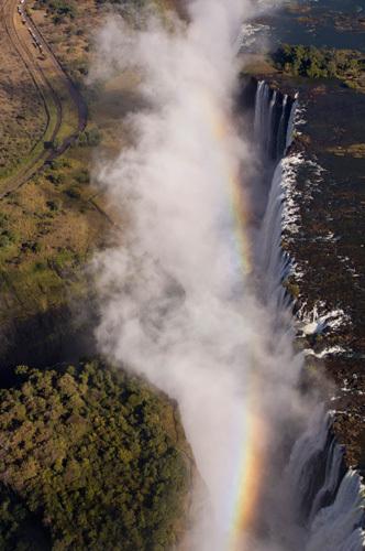 Victoria Falls, Zambesi River, Zambia - Zimbabwe border by Sergio Pitamitz