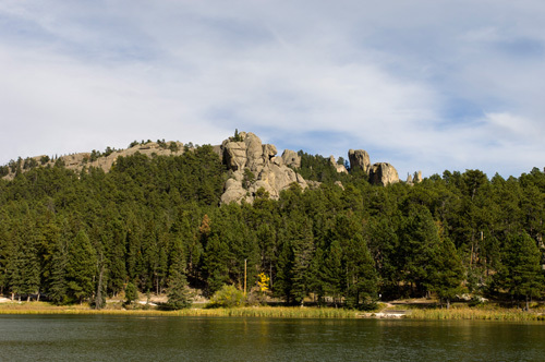 Sylvan Lake, Custer State Park, Black Hills, South Dakota, USA by Sergio Pitamitz