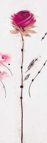 Oriental Rose III by Marilyn Robertson