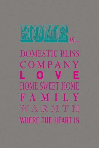 What Home Is... by Sasha Blake