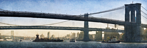 New York Crossing by Pete Kelly
