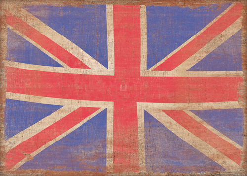 Union Jack, Vintage by Sasha Blake
