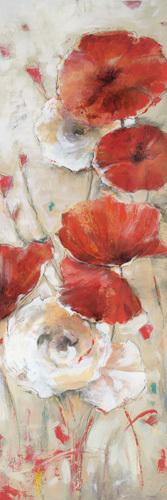 Poppies Afield II by Bridges