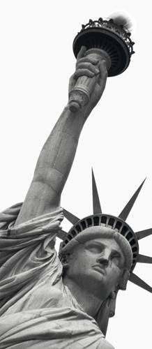 Statue of Liberty by Amy Gibbings