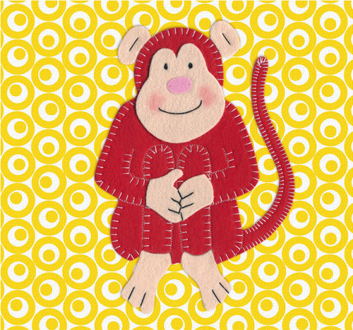 Cheeky Monkey by Catherine Colebrook