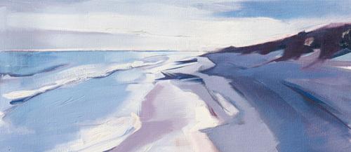 Walberswick Beach by Charlotte Evans