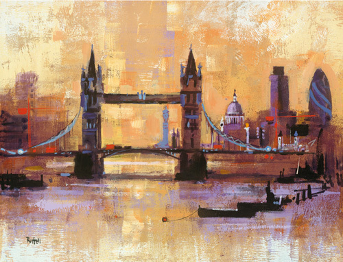 Tower Bridge, London by Colin Ruffell
