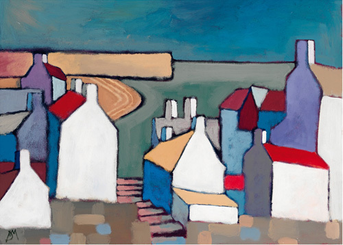 Seaside Town by Derek Melville