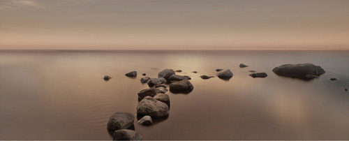 Calm Sea by Ian Winstanley