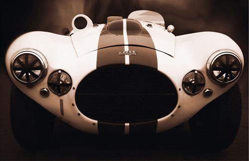 No.57, 1952 Cunningham Car by Jamie Hankin
